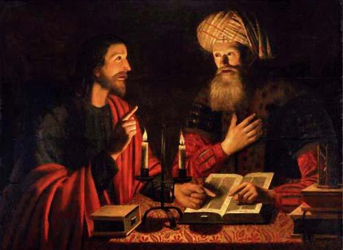 John3-1 jesus instructing nicodemus hendricksz